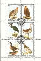 Sharjah 1972 Mi# 1184-1189 A Kleinbogen Used - Birds (III) - Oiseaux