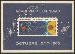 1965 Mi# Block 27 (*) Mint No Gum As Issued - Intl. Quiet Sun Year / Philatelic Space Exhibition - Nuevos