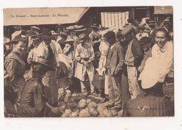 ( 71 ) LE CREUSOT SAINT LAURENT Le Marché Pub HOTEL RODRIGUE Vente De Citrouilles - Le Creusot