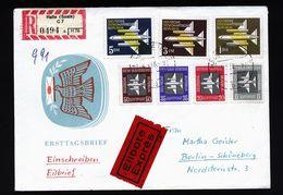 A4809) DDR GDR R-Express-Brief Von Halle 4.3.58 - DDR