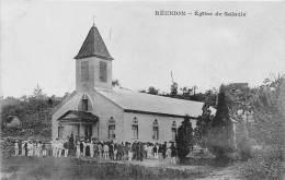 LA REUNION - Salazie / L'église - Beau Cliché Animé - Reunion
