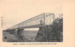 LA REUNION - Topo / Saint Louis - Le Pont De La Rivière St Etienne - Réunion
