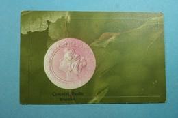 Illustration Femme En Médaillon Relief Publicité Chocolat Ruelle Bruxelles - Illustrateurs & Photographes