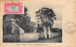 LA REUNION - Topo / Port - L'agence Des Messageries Maritimes - Léger Défaut - Réunion