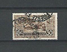 1931 N° 275 L'ERMITAGE D'OLIVARES  OBLITERE - 1900-44 Vittorio Emanuele III