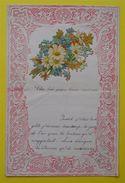 """RARE 5 Lettres D'enfant 1903-1907""""Valentines"""" Gaufrées Chromos Petite Fille De Lezignan à Son Grand-Pere Indivisible - Vieux Papiers"""