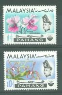 Malaya - Pahang: 1970   Flowers    SG94-95   1c And 10c  [Wmk Sideways]    MNH - Pahang