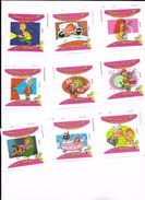 Images Malabar Chewing Gum - Série Complète Quand Y'en A Marre - 70 Images + Doubles TBE - Other