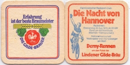 #D155-094 Viltje Gilde Bräu Hannover - Beer Mats