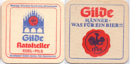 #D155-098 Viltje Gilde Bräu Hannover - Sous-bocks