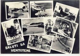 Saluti Da VENTOTENE -  Panoramiche ,  1958 - Latina