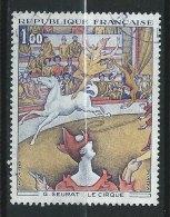 FRANCE - N° 1588A - Le Cirque, De G. Seurat - O - Gebraucht