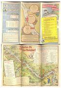 Rheindampfer  Koln-duffeldorfer  1938  Horaire - Europe
