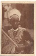 RWANDA -  Mission Des Peres Blancs OUROUNDI CHEF - Le Frère Du Roi En Tenue Danse Guerriere - écrite TTB - Rwanda