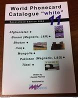 TELECARTE PHONECARD CATALOGUE N°11 AFGHANISTAN, BRUNEI, BHUTAN, IRAQ, MONGOLIA, PAKISTAN... DE 2002 EN BON ÉTAT 32 PAGES - Télécartes