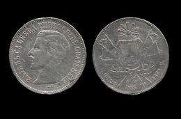 GUATEMALA . 2 REALES 1861 R . - Guatemala