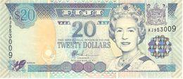 FIJI 20 DOLLARS 2002 PICK 107 UNC - Fidji