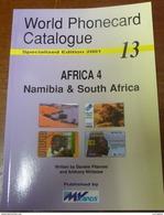 TELECARTE PHONECARD CATALOGUE AFRICA 4 NAMIBIA & SOUTH AFRICA DE 2001 EN BON ÉTAT 80 PAGES CARD - Livres & CDs