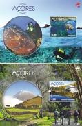 Azoren, 2016, 620/21 Block 62/63, Biosphärenreservate Auf Den Azoren. MNH **, - Azores