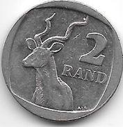 *south Africa  2 Rand  2010  Km  498 - Afrique Du Sud