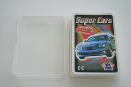 Speelkaarten - Kwartet, Super Cars, Quartet ..., Playland, *** - - Barajas De Naipe
