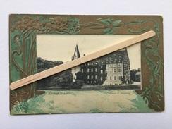 """REMERSDAEL"""" Château D' Obsinnig """" Contour Gaufré Et Coloré ,dorures ( Nº 4425 Brevetés - Jos. Bolsée-Defesche , BLEYBERG - Voeren"""