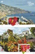 Madeira, 2015, 354/55 Block 61/62, Blumenfest Von Madeira.  MNH **, - Madeira