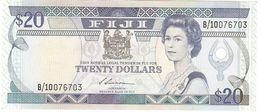 FIJI 20 DOLLARS 1988 PICK 88a AU/UNC - Fidji