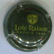 CJ-CAPSULE-CIDRE RAISON LOIC Depuis 1923  Noir & Or - Capsules & Plaques De Muselet