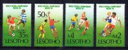 Lesotho - 1986 - Football World Cup - MNH - Lesotho (1966-...)