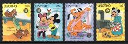 Lesotho - 1986 - Christmas/Disney - MNH - Lesotho (1966-...)