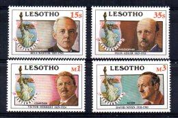 Lesotho - 1986 - Statue Of Liberty Centenary - MNH - Lesotho (1966-...)