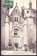 CPA - MONTREUIL BELLAY (49 - MAINE ET LOIRE) - CHATEAU DE MONTREUIL BELLAY, ENVIRONS DE SAUMUR (N° 87) - Montreuil Bellay