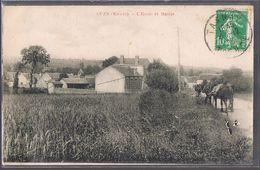 CUZY . L'Ecole Et Mairie . - Andere Gemeenten