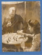 7693 Original Chess Press Photo Size: 205 X 155 Mm (damaged ! - See Image) - Photos