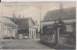 D72 - CHAHAIGNES - ROUTE DE FLEE - Autres Communes