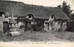 29 PONT-AVEN - La Ferme Et Le Puits De Kéramperchec - Pont Aven