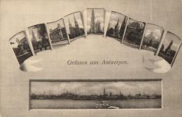 BELGIQUE - ANVERS - ANTWERPEN - Grüssen Aus Antwerpen - Bonjour D' Anvers. - Antwerpen
