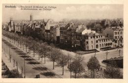 BELGIQUE - BRUXELLES - ETTERBEEK - Boulevard St-Michel Et Collège - St-Michielslaan En College. - Etterbeek