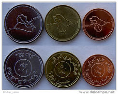 IRAK 2004 SERIE 3 MONETE 100-50-25 DINARS FDC - Irak