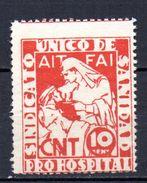 Viñetas Politica Nº 757 / 1928  Pro Hospitales. - Viñetas De La Guerra Civil