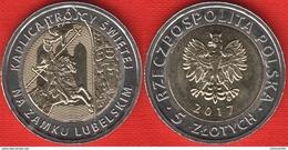 "Poland 5 Zlotych 2017 ""Holy Trinity Chapel At Lublin Castle"" BiMetallic UNC - Poland"