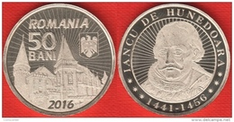 "Romania 50 Bani 2016 ""Iancu De Hunedoara"" UNC - Roumanie"