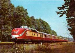 ! Alte Ansichtskarte TEE Trans Europa Express, Eisenbahn, Railway, Zug, Bundesbahn - Treinen