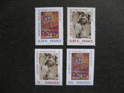 Emmissions Communes 2007: TB Paires Des N° 4058/4059 + Arménie N° 542/543, Neufs XX. - France