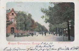 AK Truppen-Übungsplatz-Zeithain  König-Georg-Strasse Color Gelaufen 16.6.03 - Zeithain