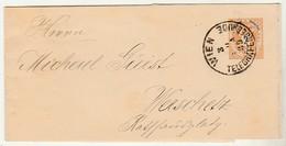 Cinta * Austria * Wien * 1889 * 2kr * Stationery * (not A Cover) * - 1850-1918 Imperium