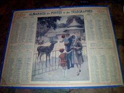 Calendrier Almanach Des Postes Et Des Telegraphes Annee 1932 Autentique D Epoque Paris - Calendriers