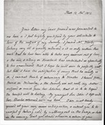 """1802 Family Letter From """"Eliz C Worsley, Platt"""" To """"Miss Gifford, Duffield Bank, Derby"""". Dragon Seal. Automatons..  0411 - Autographs"""