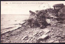 CPA - CHATELAILLON (17 - CHARENTE MARITIME) - LA COTE ET LA CABANE DES DOUANIERS (N° 19) - Châtelaillon-Plage